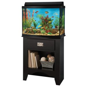 Top Fin Euro Heartland Aquarium Ensemble Aquarium Stand Fish Tank Stand Aquarium