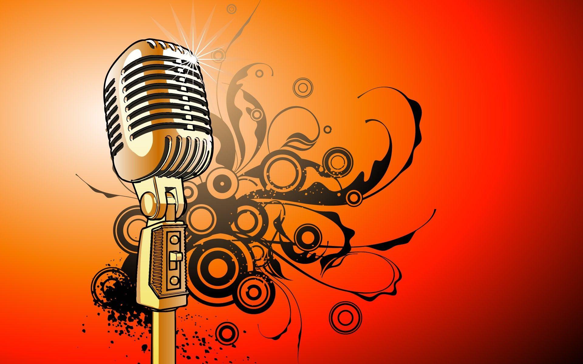 Microphone Selection Music Art Music Wallpaper Music Artwork