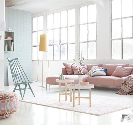 Möbel in Pastell - von zartem Rosa bis Himmelblau Himmelblau - wohnzimmer weis rosa