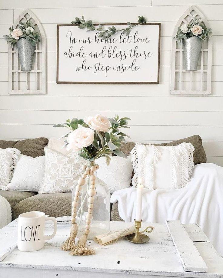 Photo of ✔45 beautiful farmhouse living room design and decor ideas 40 ~ aacmm.com