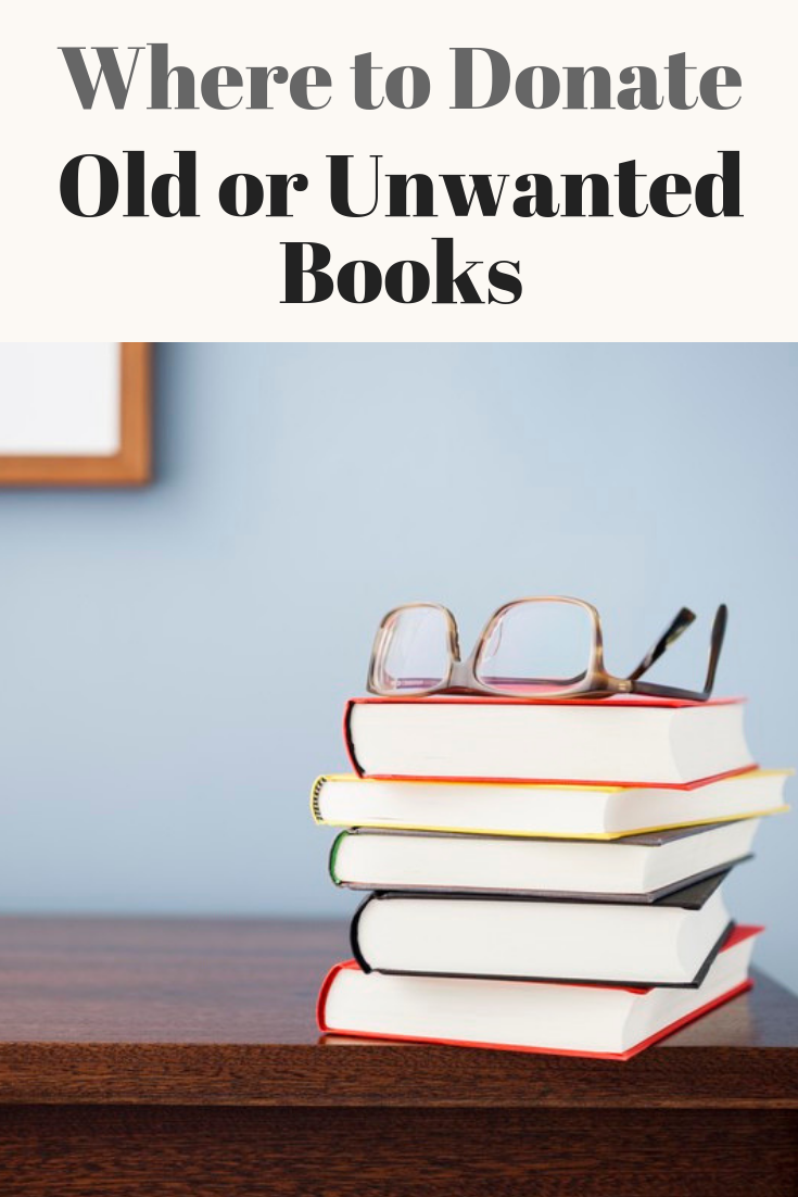 Where to Donate Old or Unwanted Books | Book Club | Books, Where to