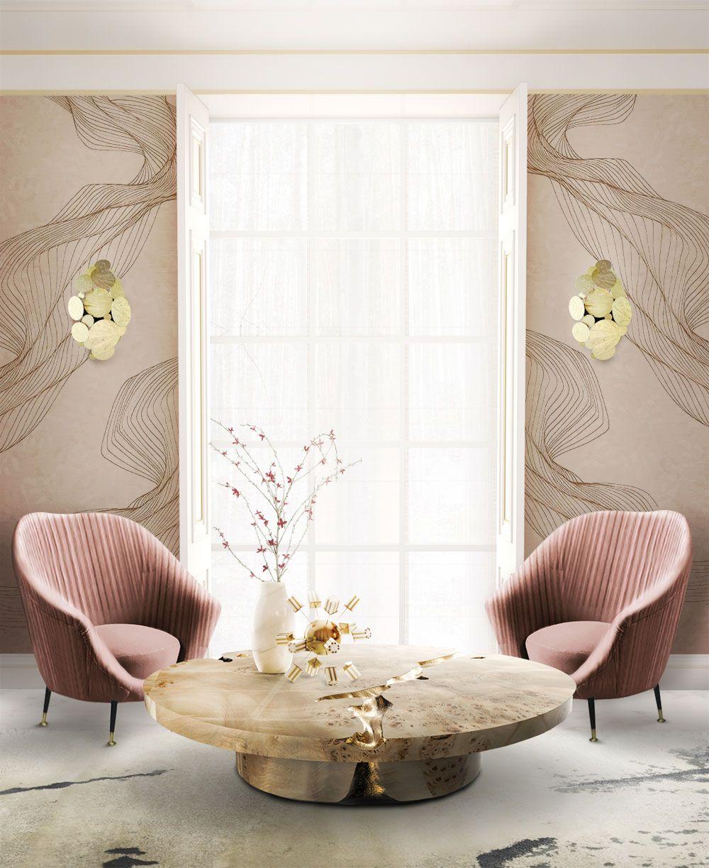 Pin By Anissa El On Modern Affair Home Fall 18 19 P G Feminine Living Room Luxury Living Room Interior Design [ 1223 x 1000 Pixel ]