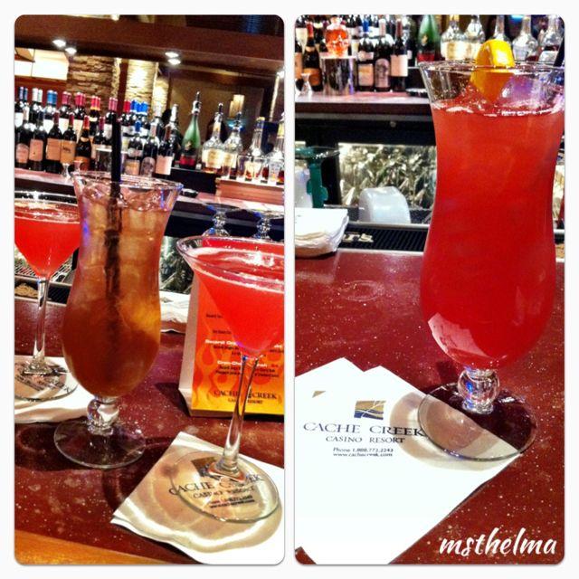 Drinks @ Cache Creek Casino Resort