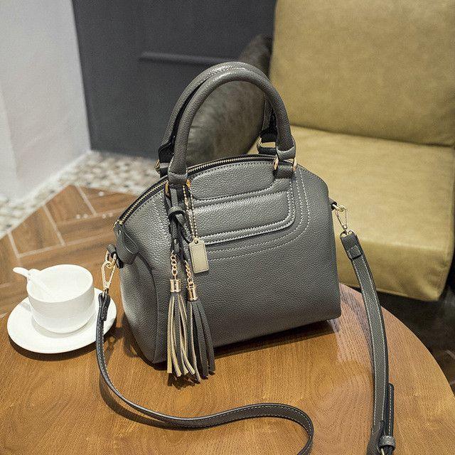 Genuine Leather Embossed Women Handbag Fashion Famous Brand 2017 Winter Women Shoulder Bagmessenger shoulder bag