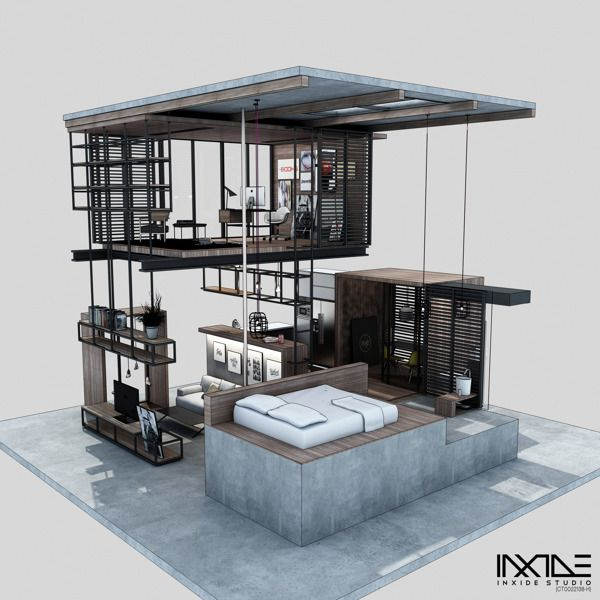 KOTAK Haus, The Compact Living Space (Conceptual) By Anwar