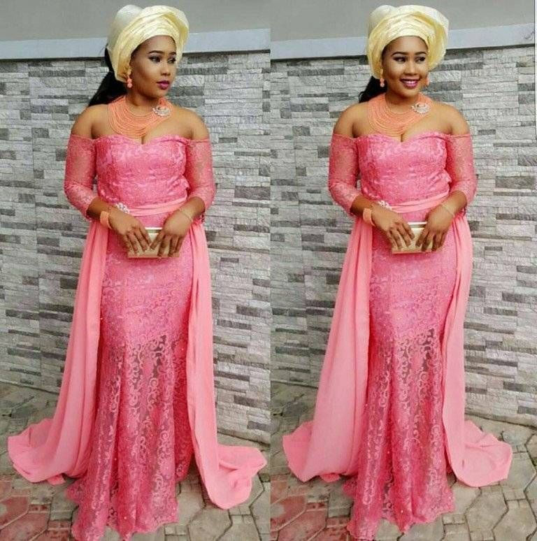Top Ten Unique And Stylish Aso Ebi Cord Lace Styles | African Aso ...