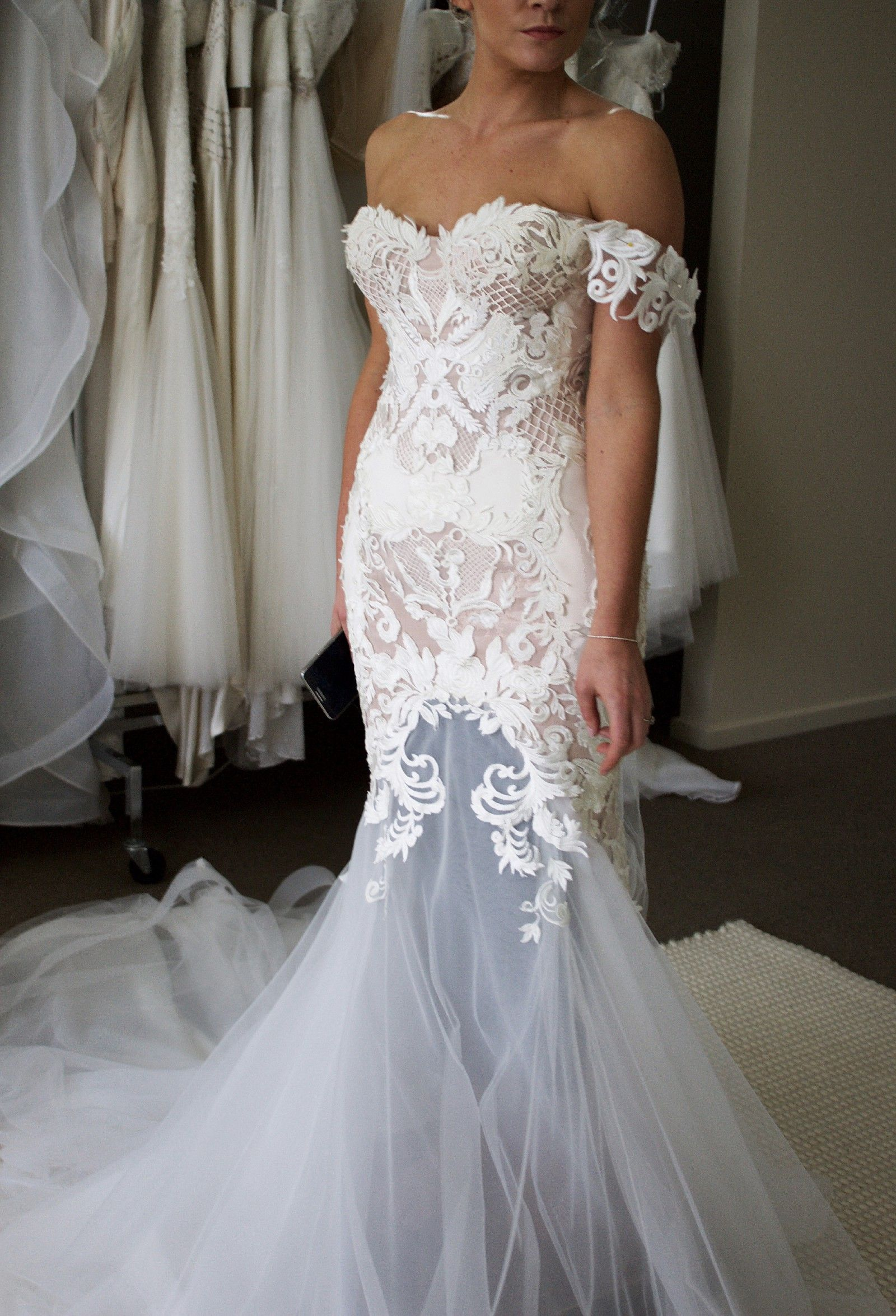 Blinova Bridal Sample Wedding Dress One Dayybe Wedding