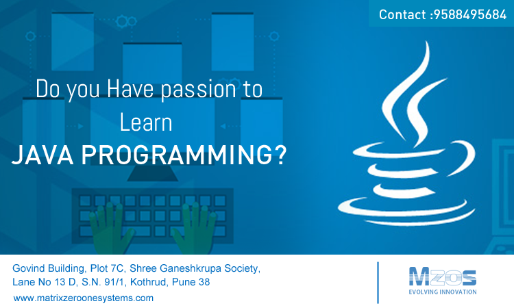 MZOS IT training institute in Pune. Place yourself in