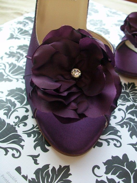 Wedding Shoes Purple Aubergine Eggplant Peep Toe Shoe Dyeable Choose From Over 100 Colors Handmade Purple Wedding Shoes Wedding Shoes Purple Shoes