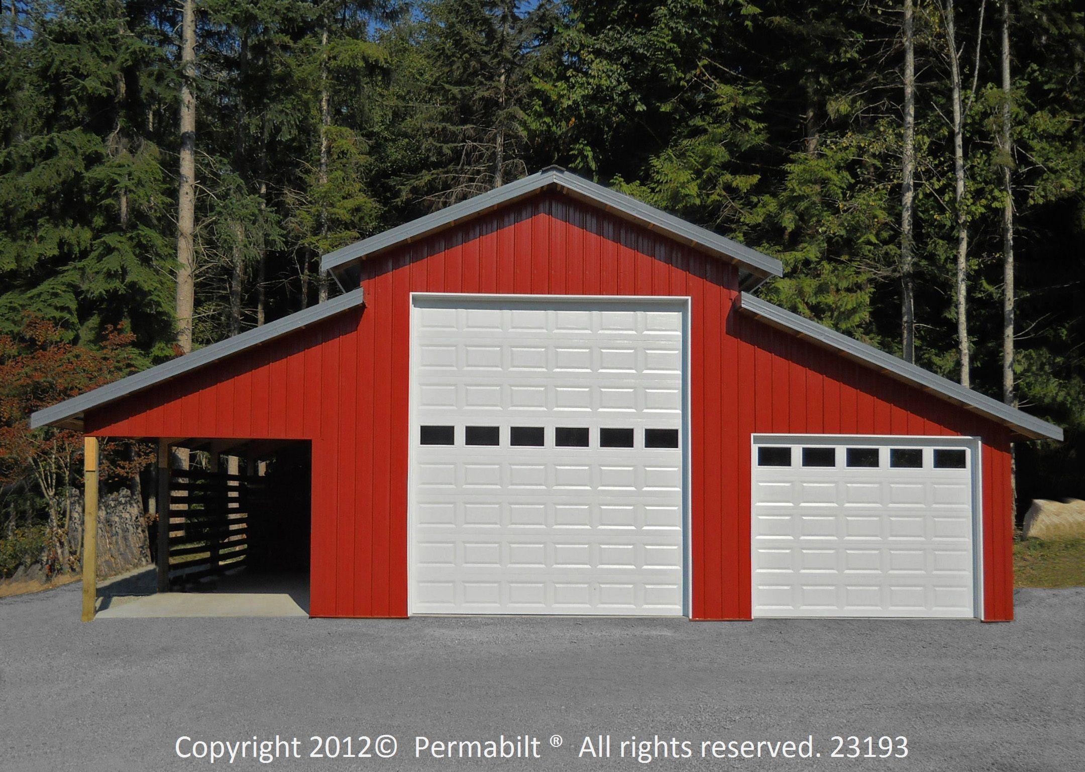 Gallery Monitor Barn Barn Garage Pole Barn House Plans