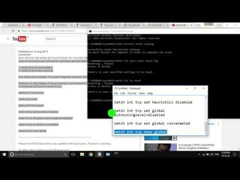 bb0b0620837 Fix Windows 10 Wifi problem limited access / wifi not showing - YouTube