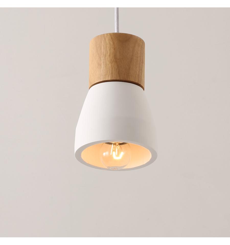 Suspension Ampoule Simple En Ciment Luminaire Design Vika