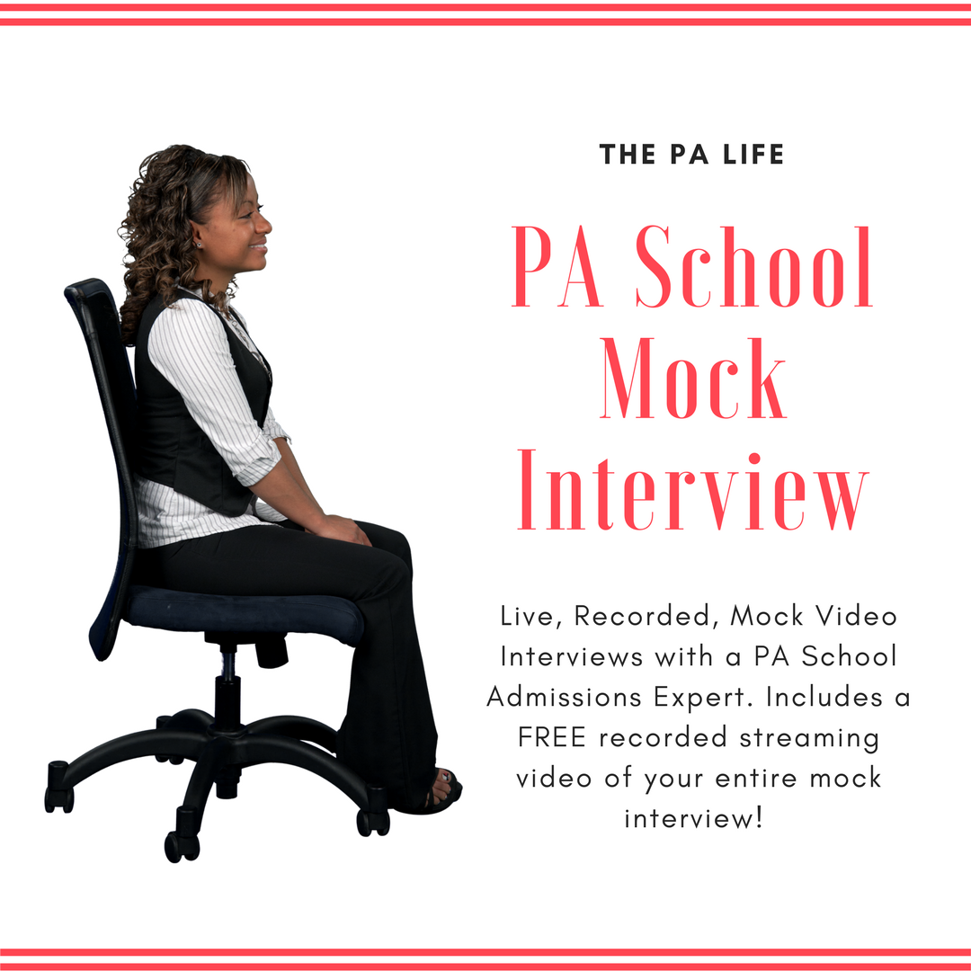 PA School Mock Interviews: Prepare With a Live, Recorded