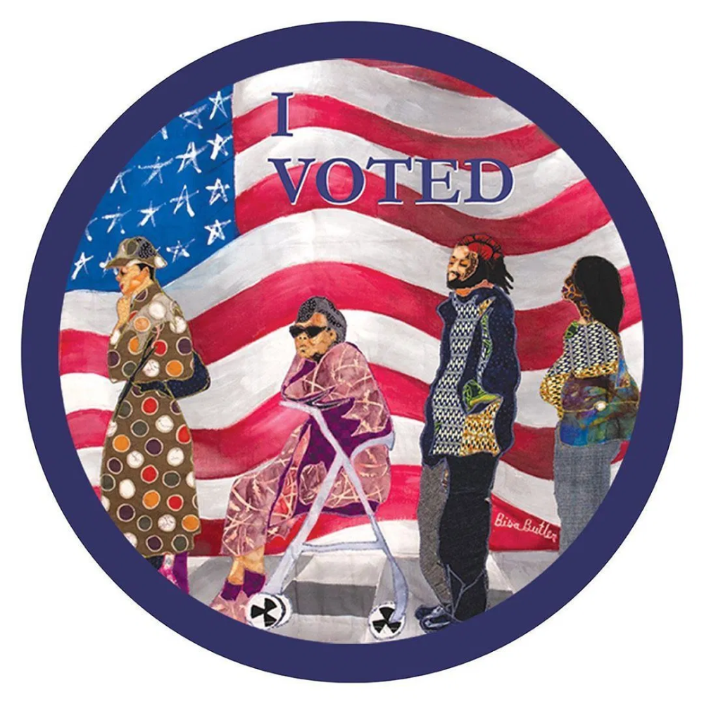 48 Artists Create I Voted Stickers For New York Magazine If It S Hip It S Here Art Artist Digital Art