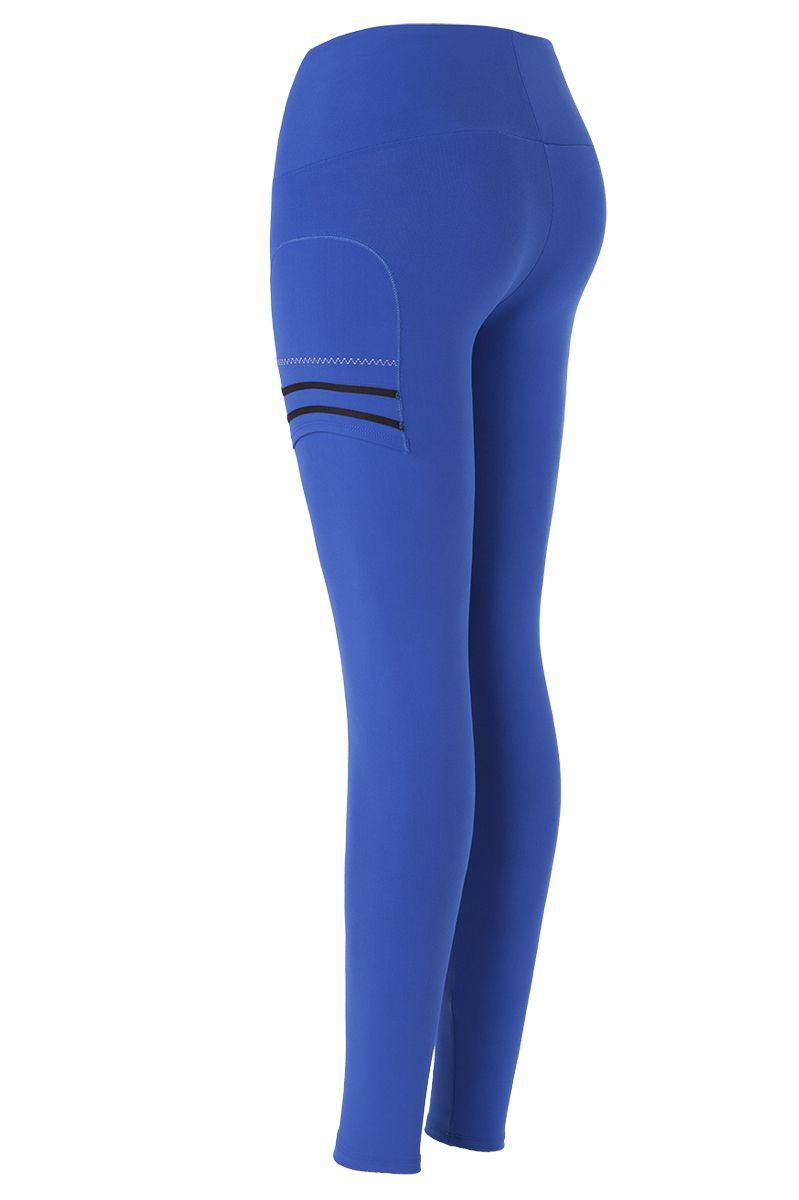 3/4 trasera Pantalones cortos Naffta Tights Pant Blue / Black