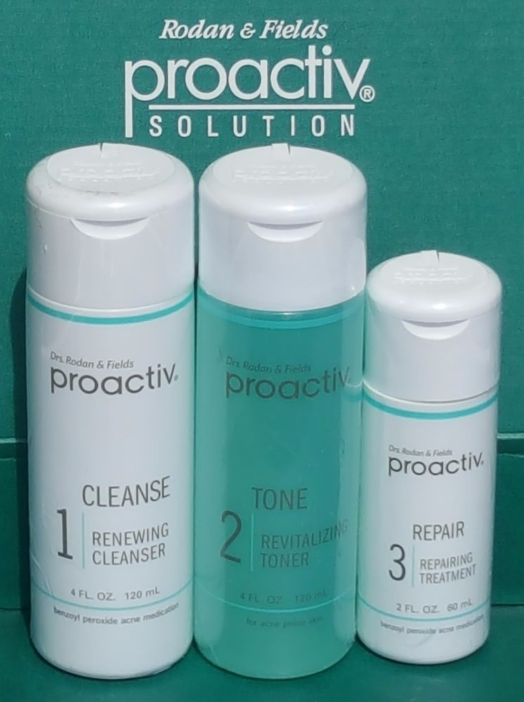 Proactiv Solution 3pc 60 Day Acne Kit Summers Eve Feminine Cleansing Cloths Sensitive Skin Sheer Floral 16 Each