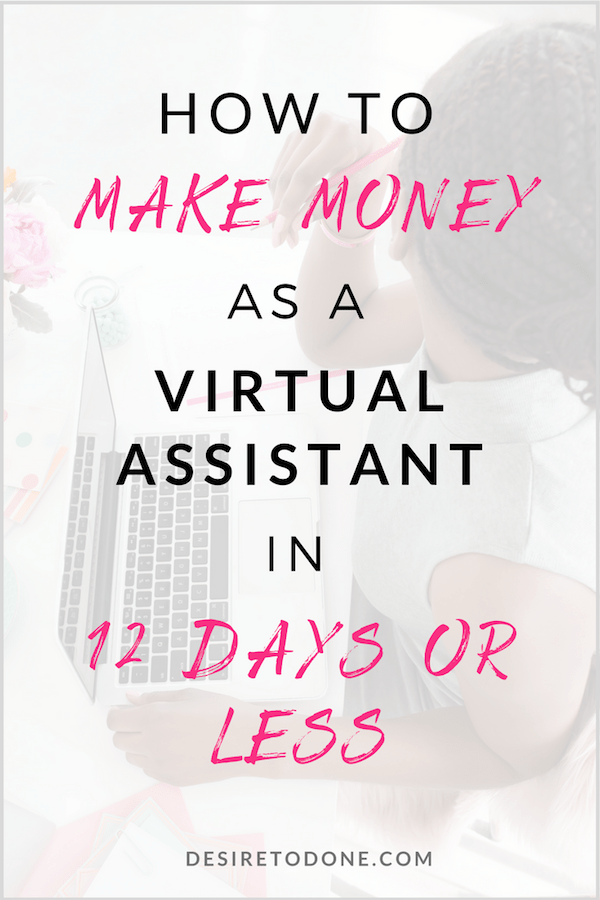 Make Money As A Virtual Assistant In 7 Days Or Less Virtual