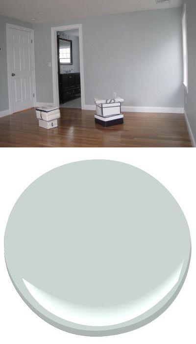 Pale smoke benjamin moore color pinterest benjamin for Benjamin moore bathroom colors 2011
