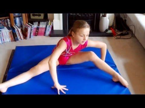 gymnastics warm up routine  youtube  gymnastics warm ups
