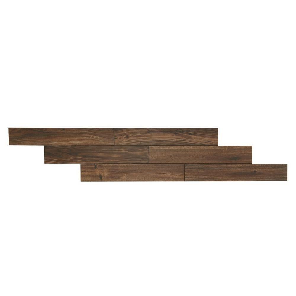 woodhurst amber wood plank porcelain tile - 6in. x 36in