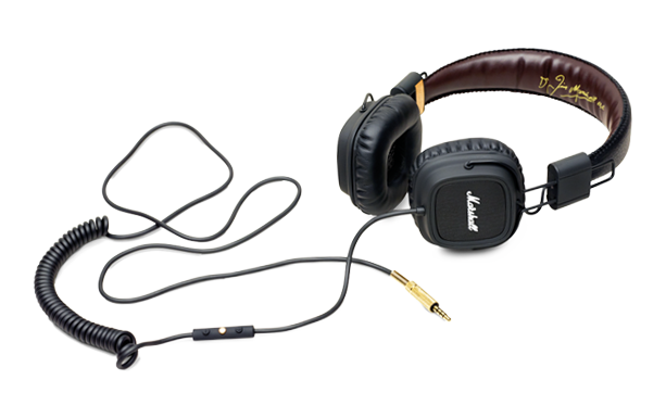 Marshall headphones - The black major fx. 120€.