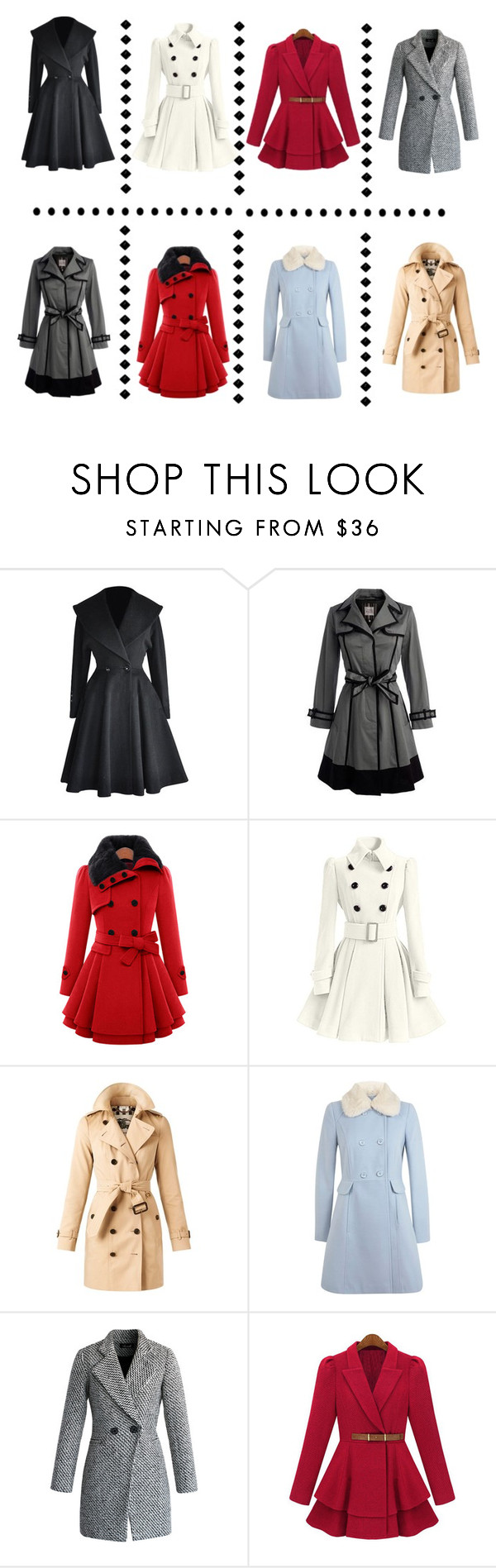 """Which Coat Are You?"" by chloes-creations ❤ liked on Polyvore featuring Burberry, Miss Selfridge, Chicwish, women's clothing, women's fashion, women, female, woman, misses and juniors"