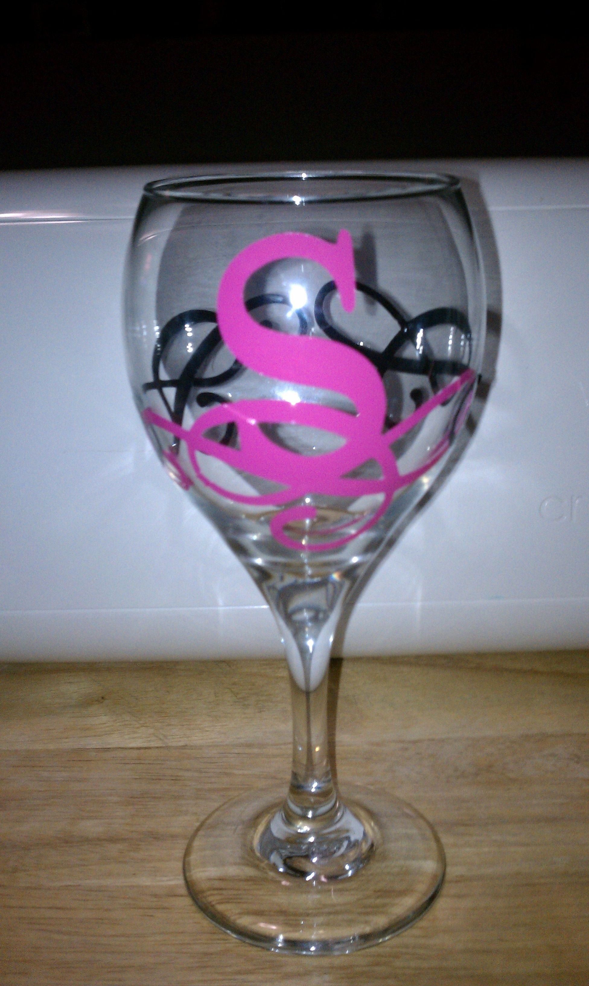 acb6d91d0cc DIY Monogram Wine Glasses