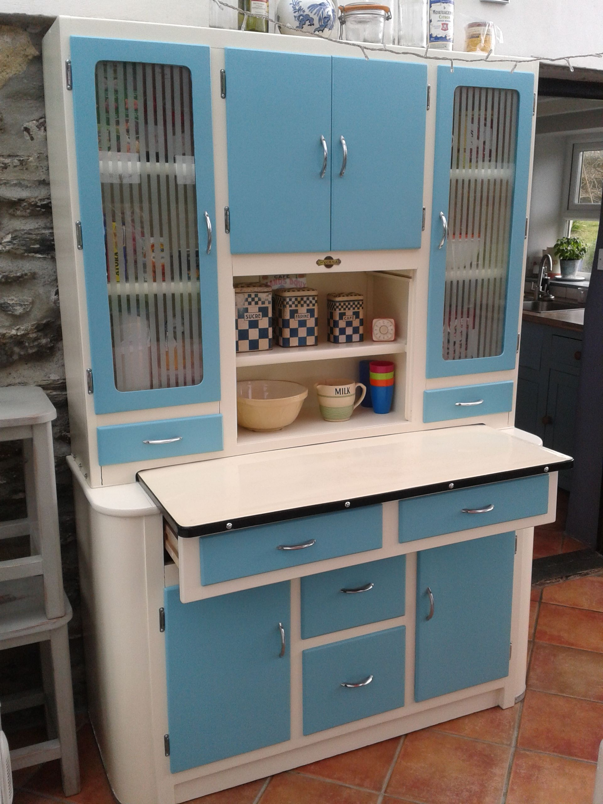 Refurbished 1950\'s Hygena Queen kitchen cabinet. | Vintage Kitchens ...