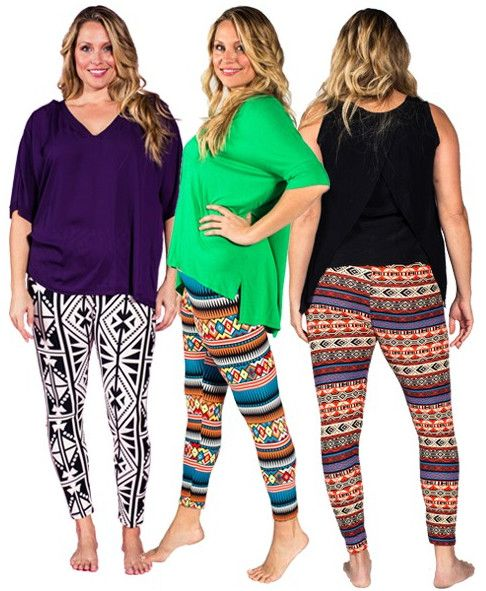 Tall And Curvy Leggings - Trendy Clothes