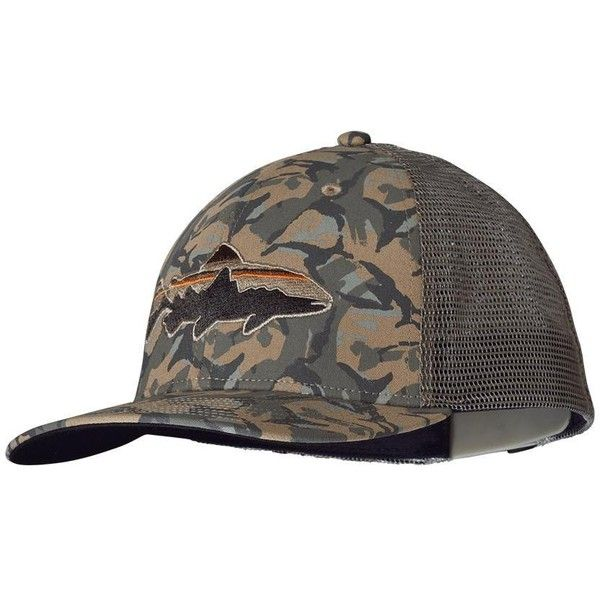 d07ec65e88052 Patagonia Trucker Hat ( 25) ❤ liked on Polyvore