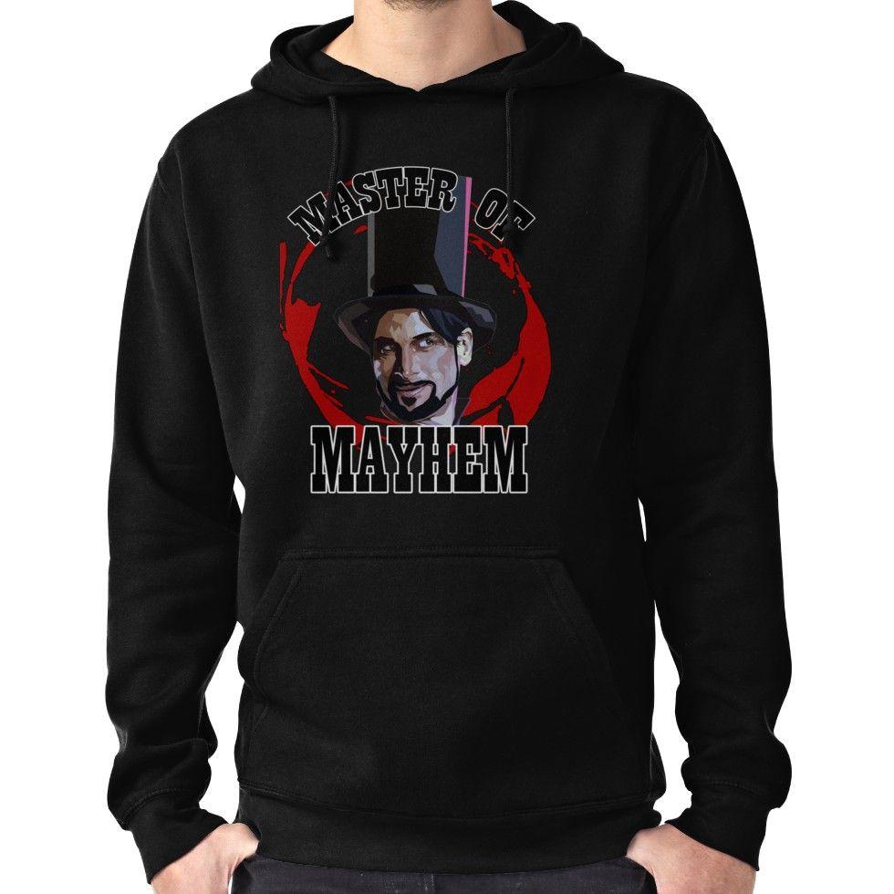 e2fe8908 Master Of Mayhem. Julian Slink. Blood Drive Hoodie (Pullover)