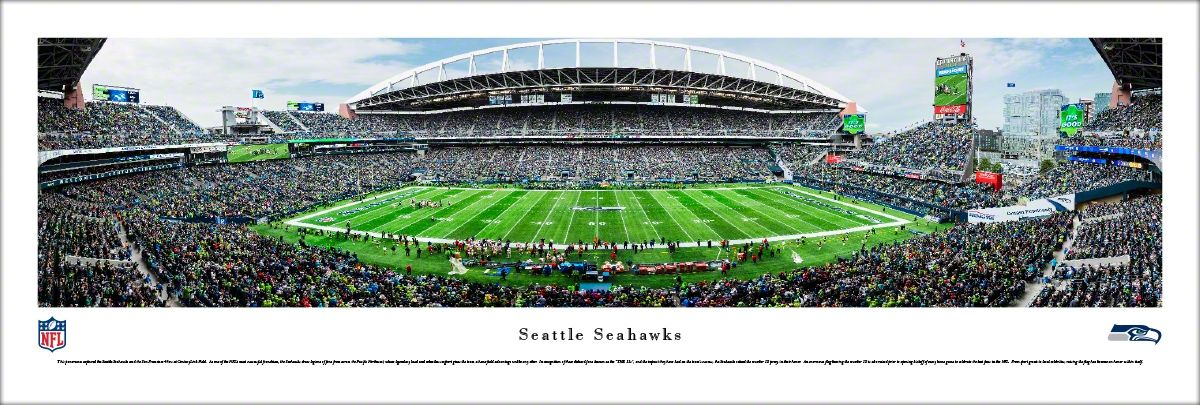 Seattle Seahawks Panoramic Picture - CenturyLink Field   Seattle ...