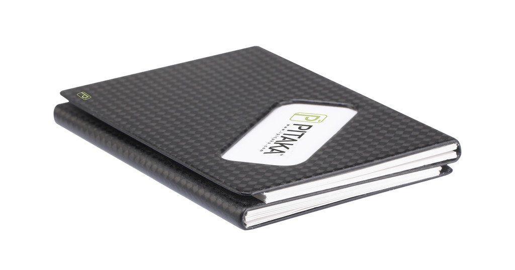 Amazon.com: pitaka® Carbon Luxury Matte Finish business card holder ...