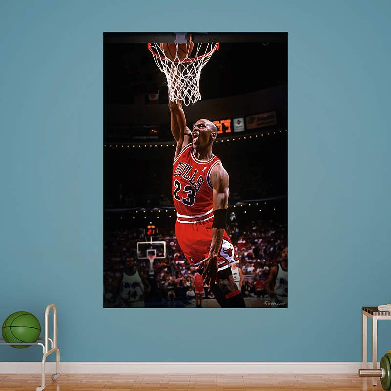Michael Jordan Fathead Wall Mural Part 21