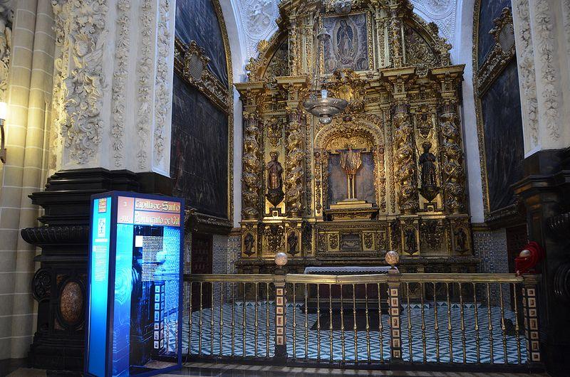 Zaragoza - La Seo  St Dominguito Chapel Plaza de La Seo