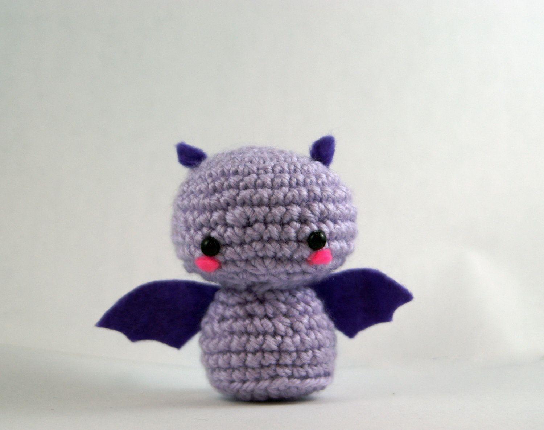 Amigurumi Patterns For Sale : Crochet fritz the fruit bat amigurumi bat toy bat plush handmade