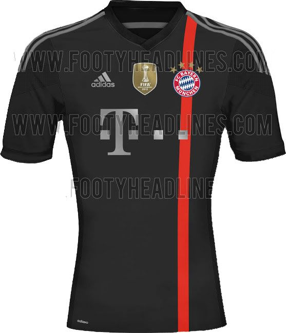 Bayern Munich New Third kit for 2014-15 season