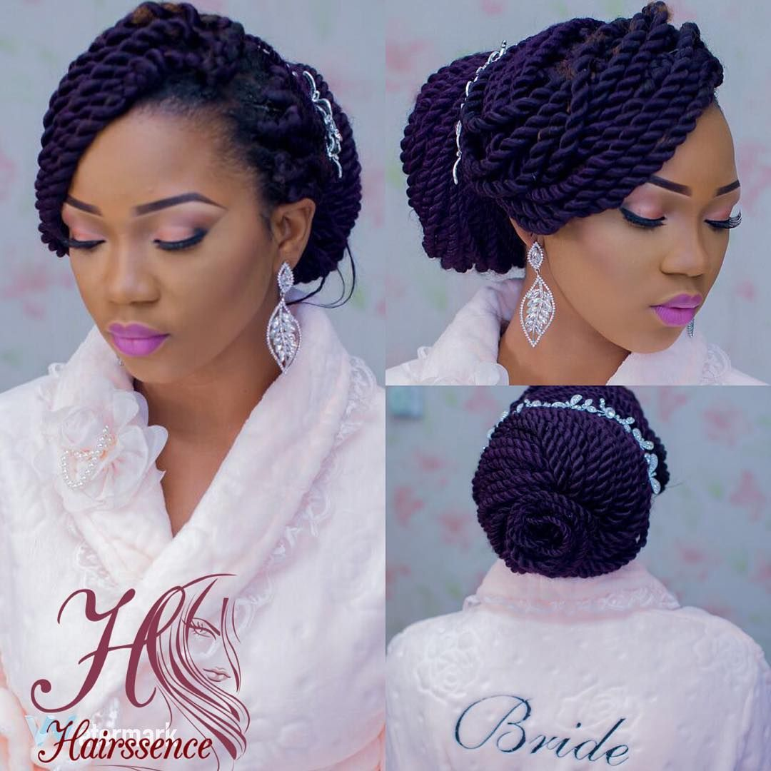 Wedding Hairstyles With Box Braids: Pin By Yalonda Mims On Hairs