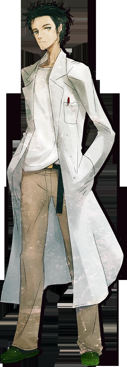 Rintarou Okabe Steins;Gate Wiki Personagens de anime