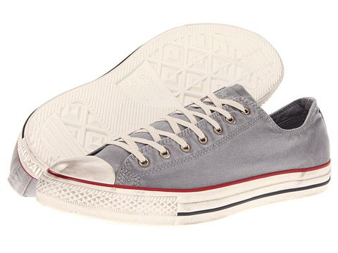 678f269435e8ac Converse Chuck Taylor® All Star® Washed Canvas Ox Drizzle Washed -  Zappos.com Free Shipping BOTH Ways