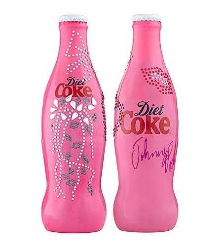Limited Edition Diet Coke Bottle Sparkles and Shines! <3