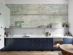 Fancy Wood • Kitchen – Colonial – Wall Murals – Posters – Nature – Flowers and plants • Pixers® • We live to change