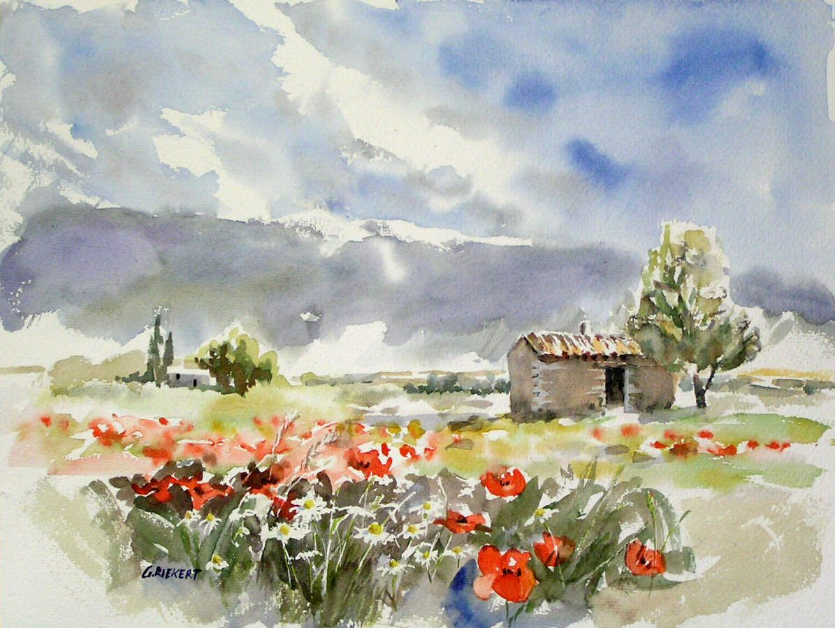 Watercolor In Provence Blog Archive Bories Pres De