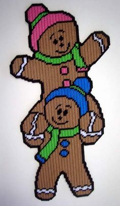Gingerbread Pals Pg 1/2