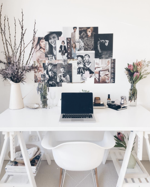 Best Home Office Decorating Ideas On Instagram Domino Home Office Decor Home Office Furniture Home Decor Inspiration