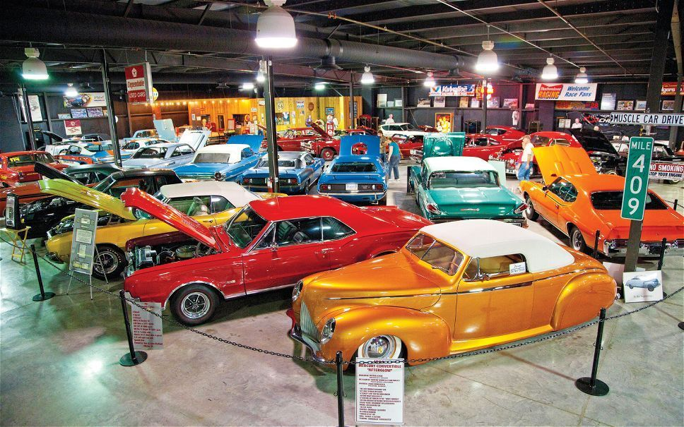 Floyd Garrett S Muscle Car Museum In Knoxville Tennessee Car