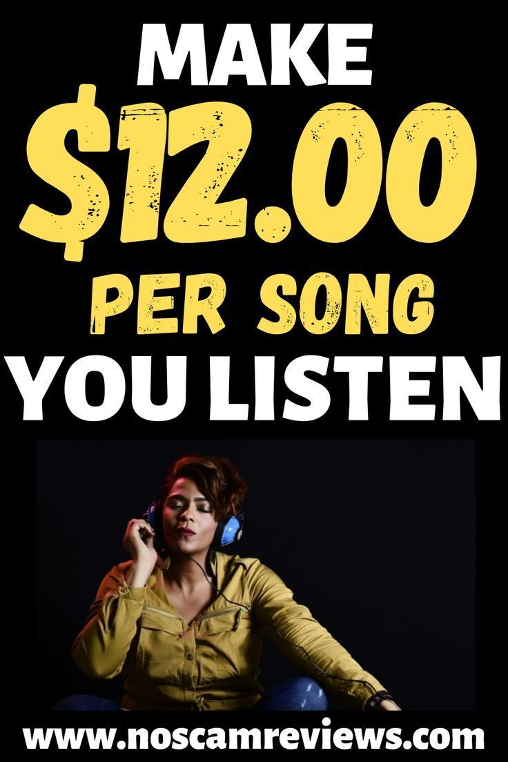Get Paid Listening To Music For Free! I bet you pl