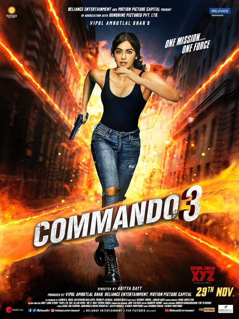 Commando 3 Movie Character Posters Social News Xyz Movie Stars Hindi Movies Bollywood Movies Online