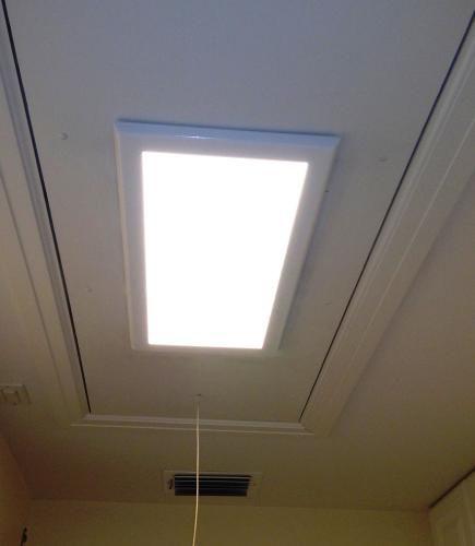 Edge Lit Led Flat Light Luminarie