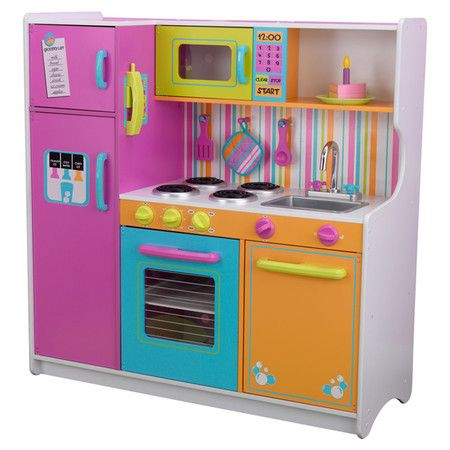 Found It At Wayfair Deluxe Big Bright Toy Kitchen Building